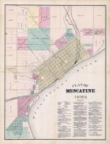 Muscatine, Muscatine County 1874